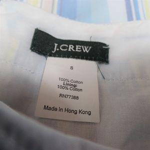 J. Crew Skirts - J.Crew Midi Cotton Pleated Skirt Sz 8